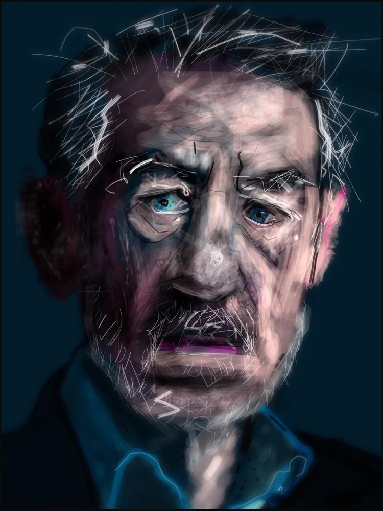 Ian McKellen by Zilmari